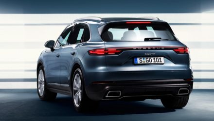 2018 Porsche Cayenne revealed via leaked images