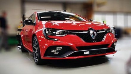 2018 Renault Megane R.S. leaks out again, more revealing