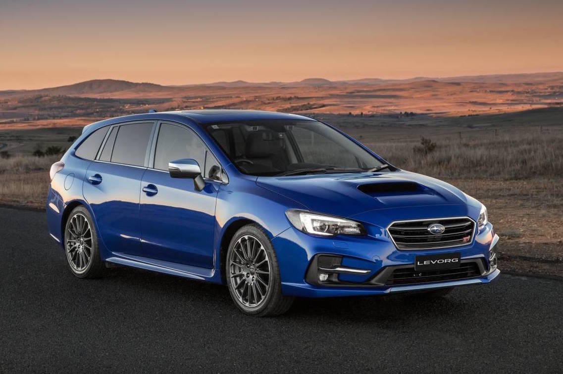 2018 subaru levorg now on sale 1 6t debuts in australia performancedrive. Black Bedroom Furniture Sets. Home Design Ideas