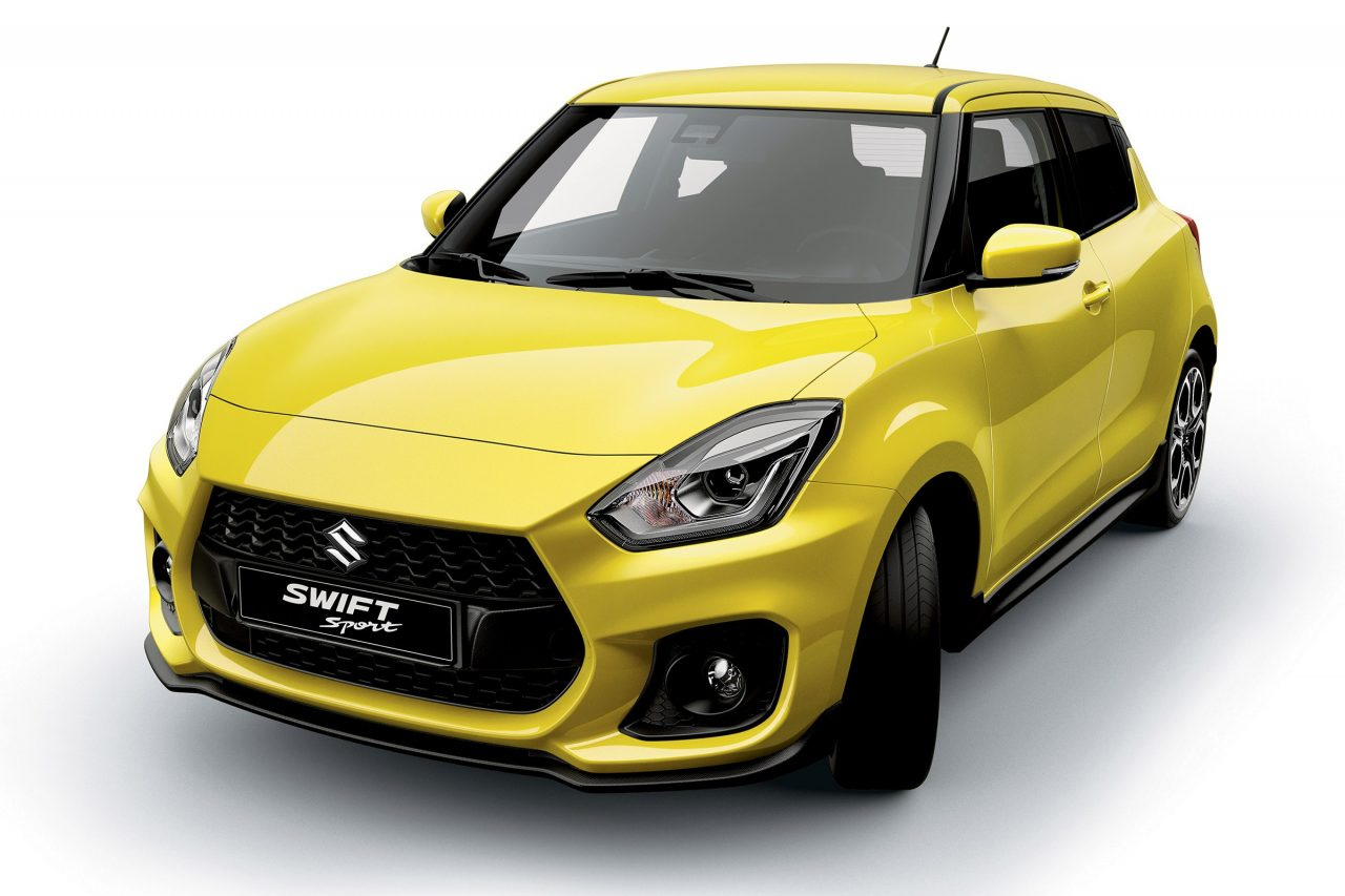 2018 suzuki swift sport interior confirms manual 1 0t suspected performancedrive. Black Bedroom Furniture Sets. Home Design Ideas