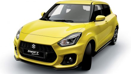 2018 Suzuki Swift Sport interior confirms manual, 1.0T suspected
