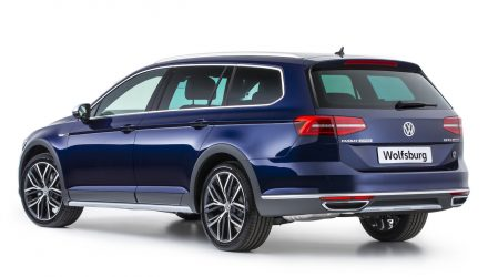 MY2018 Volkswagen Passat Alltrack Wolfsburg edition on sale in Australia