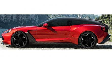 Aston Martin Vanquish Zagato Shooting Brake is here