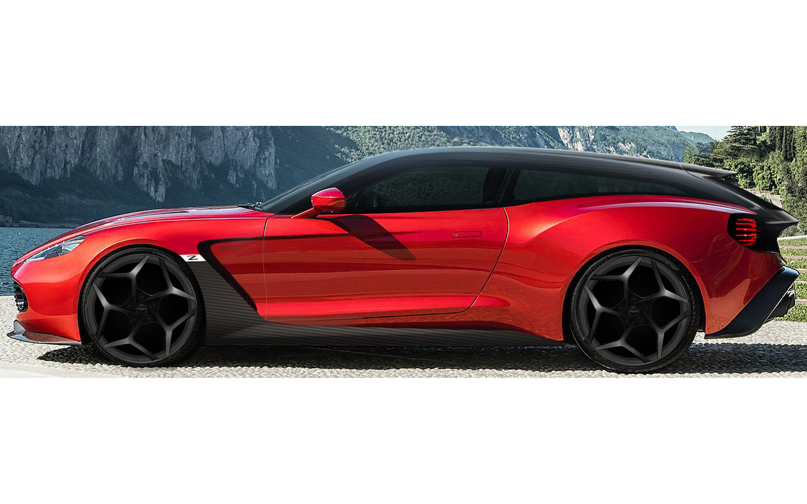 Aston Martin Vanquish Zagato Speedster and Shooting Brake debut