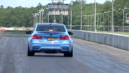 BMW M3 F80 sets world record quarter mile (video)