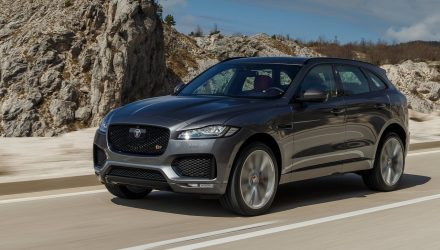 Jaguar Land Rover sales keep soaring, led by F-Pace SUV