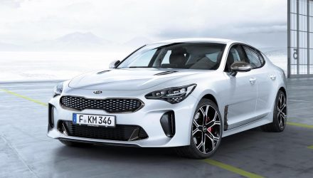 Standard features for Kia Stinger V6 lineup confirmed