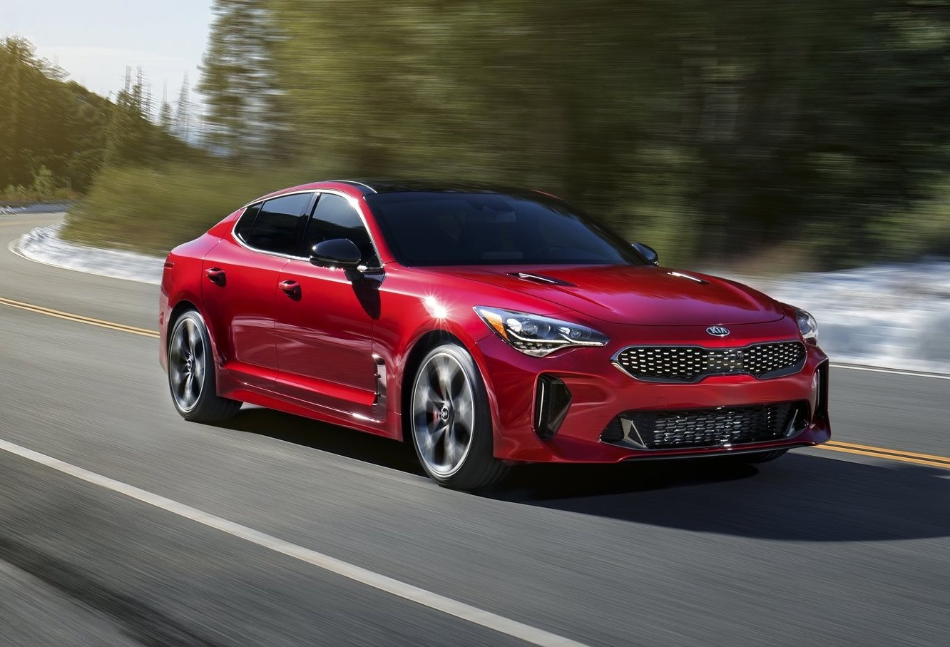 kia australia confirms stinger twin turbo v6 price from 48 990 performancedrive. Black Bedroom Furniture Sets. Home Design Ideas