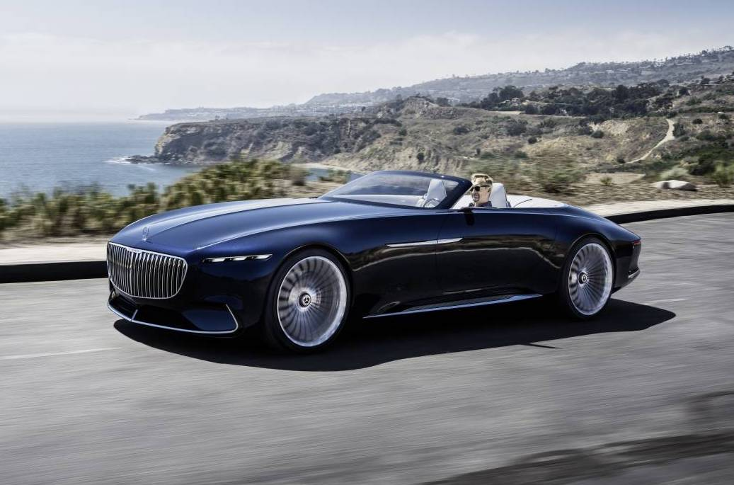 vision mercedes maybach 6 cabriolet is one stunning drop top performancedrive. Black Bedroom Furniture Sets. Home Design Ideas