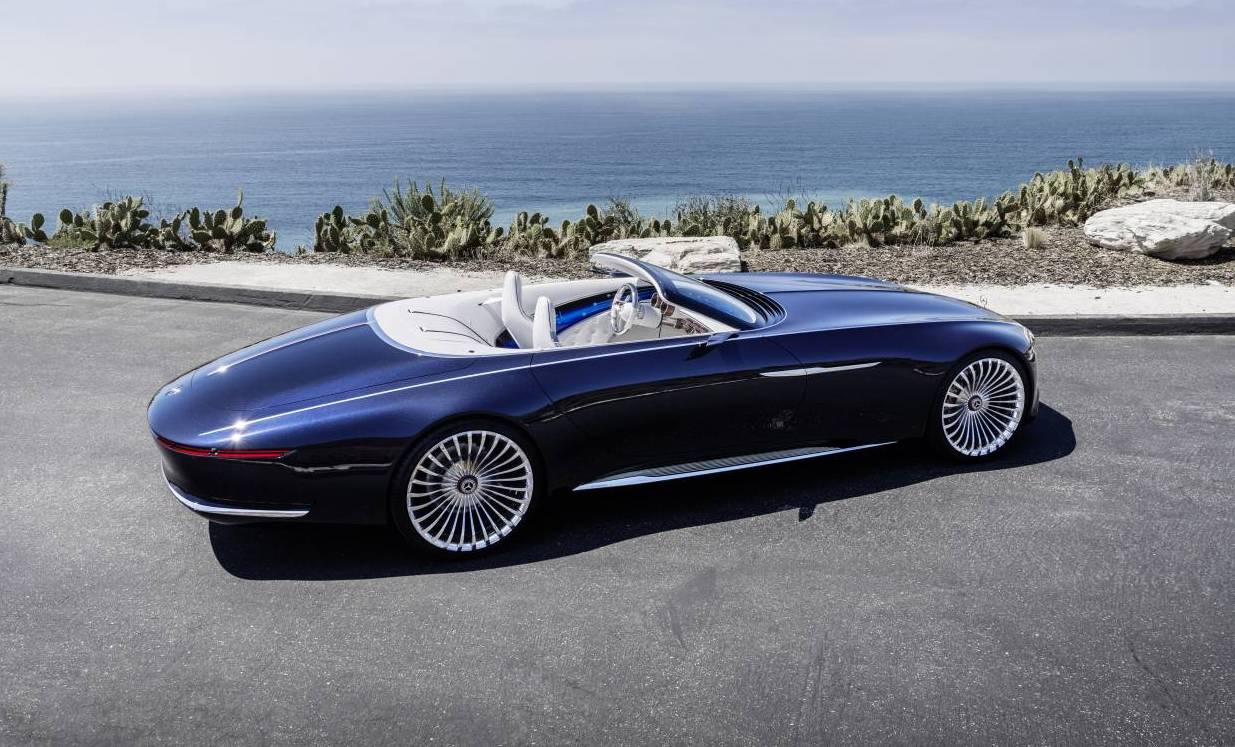 Mercedes-Maybach Vision 6 Cabriolet breaks cover at Pebble Beach