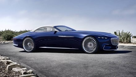 Vision Mercedes-Maybach 6 Cabriolet is one stunning drop-top