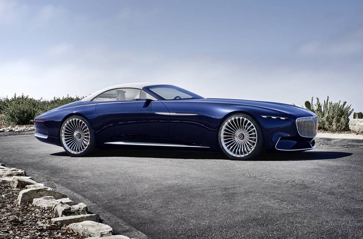Vision Mercedes Maybach 6 Cabriolet Is One Stunning Drop Top Performancedrive