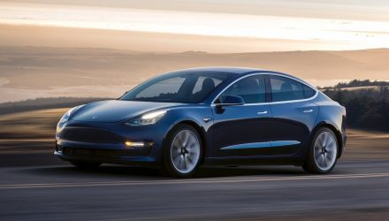 EPA reveals Tesla Model 3 power output & kerb weight