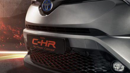 Toyota C-HR Hy-Power hybrid, 2018 Prado confirmed for Frankfurt