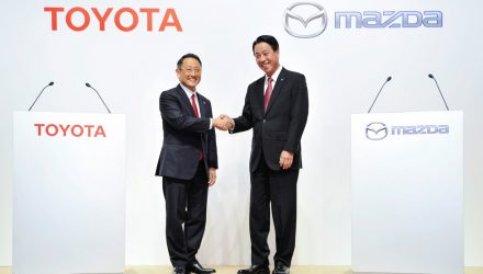 Toyota & Mazda sign partnership; co-develop EVs, produce vehicles in US