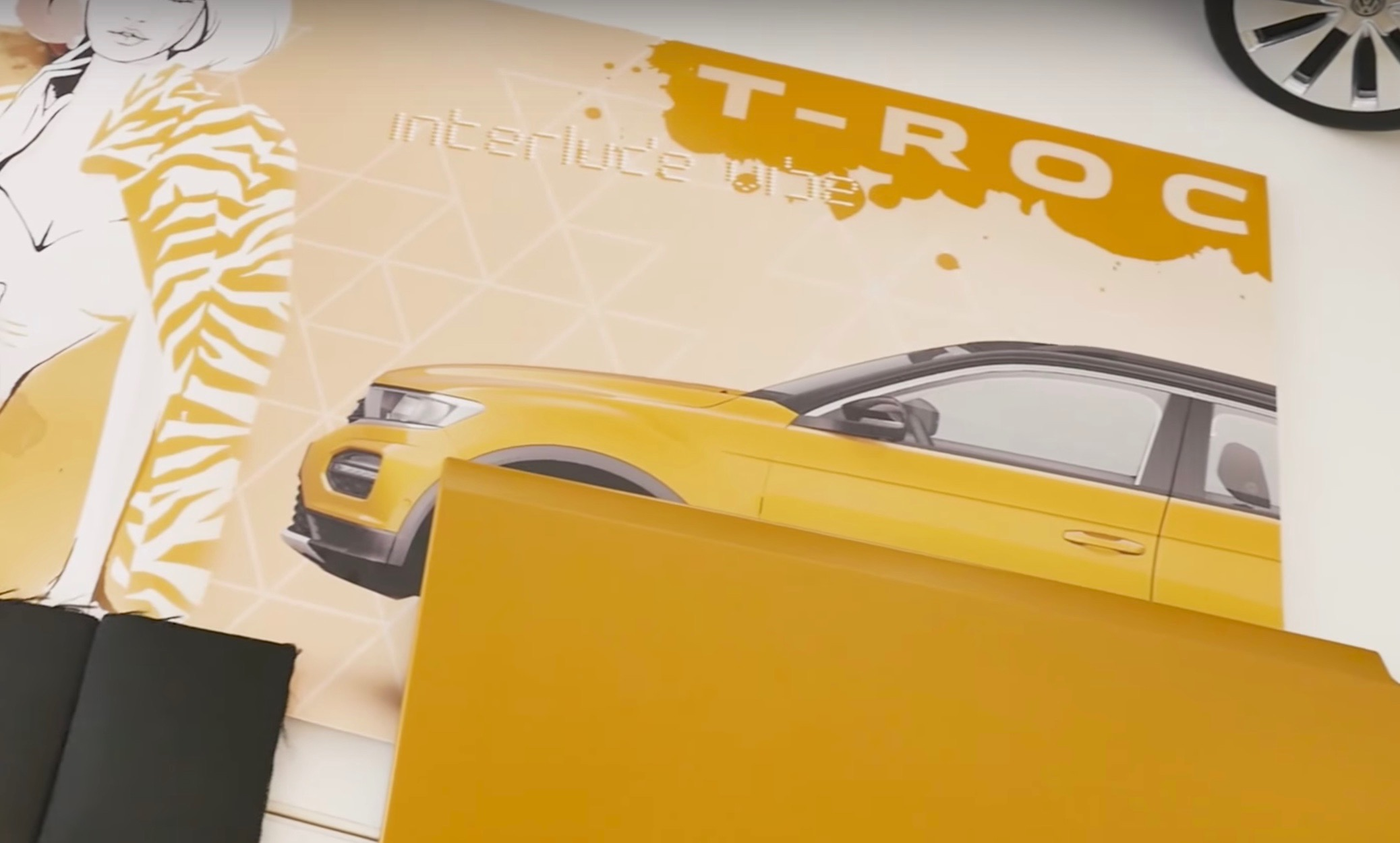 Video Volkswagen T Roc pact SUV previewed