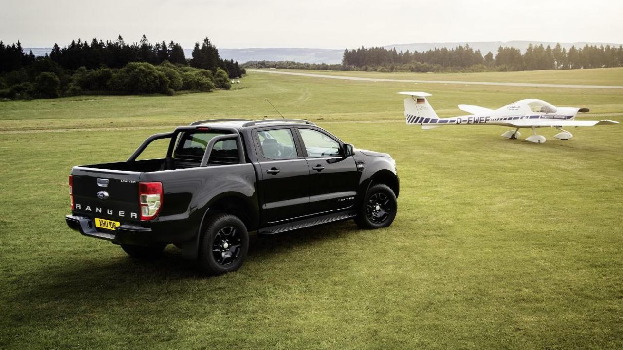 ford ranger black edition announced in europe. Black Bedroom Furniture Sets. Home Design Ideas