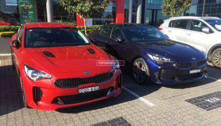 Kia Stinger GT spotted in Australia ahead local launch