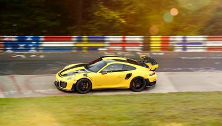 Porsche hints Nurburgring lap record with 911 GT2 RS