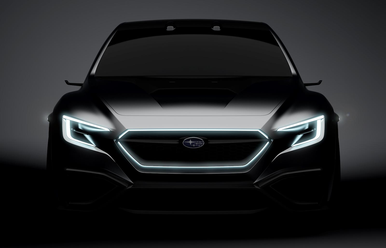 Subaru Viziv Concept Previews 2020 Wrx Brz Sti Sport