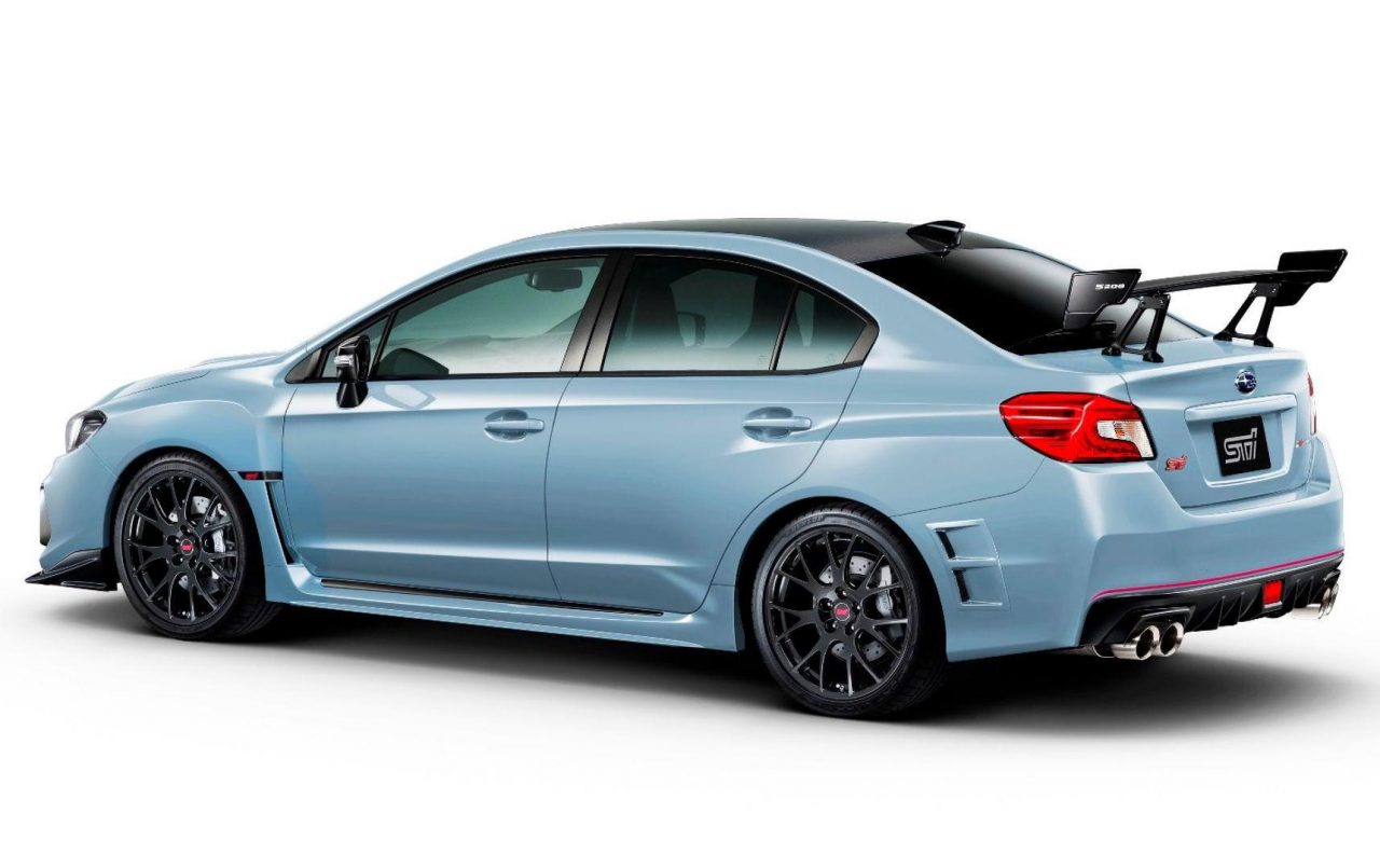 subaru wrx sti s208 heading to tokyo show 450 units planned performancedrive. Black Bedroom Furniture Sets. Home Design Ideas