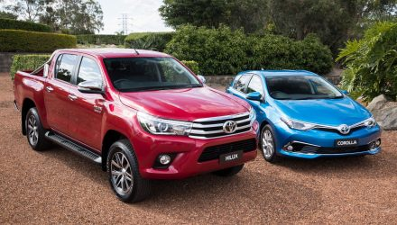 Australian vehicle sales for August 2017 – Toyota sets pace for FY18