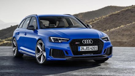 2018 Audi RS 4 Avant unveiled with 2.9 twin-turbo V6