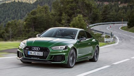 Bi-turbo V6 2018 Audi RS 5 on sale in Australia in December