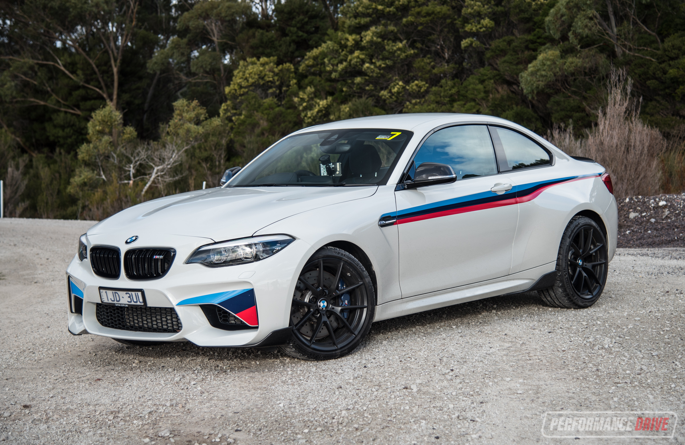 2018 bmw m2 m performance review australian launch video performancedrive. Black Bedroom Furniture Sets. Home Design Ideas