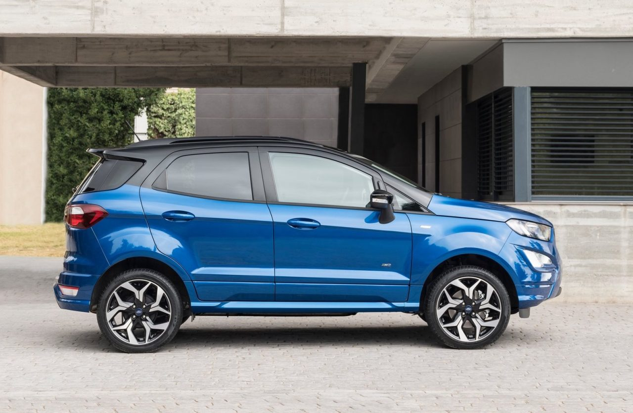 2018 ford ecosport facelift adds awd option st line confirmed performancedrive. Black Bedroom Furniture Sets. Home Design Ideas