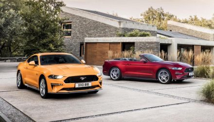 Euro-spec 2018 Ford Mustang unveiled, more power for V8