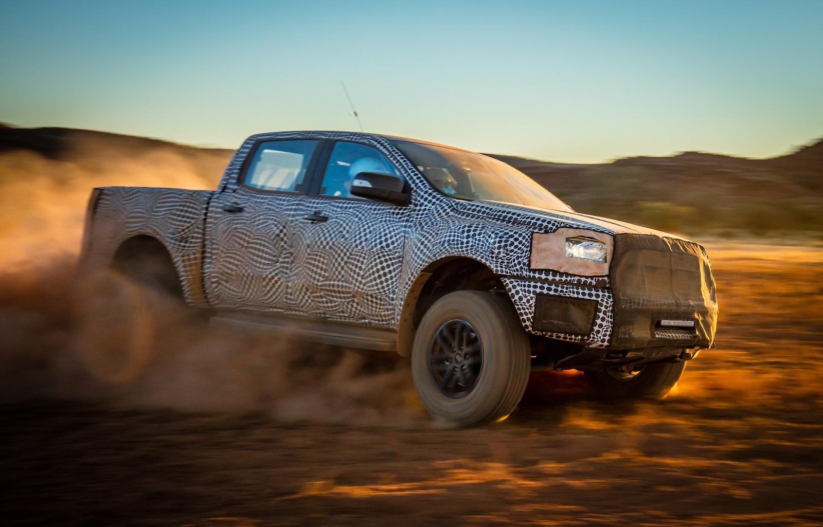ford ranger raptor confirmed on sale in australia in 2018 performancedrive. Black Bedroom Furniture Sets. Home Design Ideas