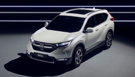 Honda CR-V Hybrid Prototype revealed, on sale in Europe next year
