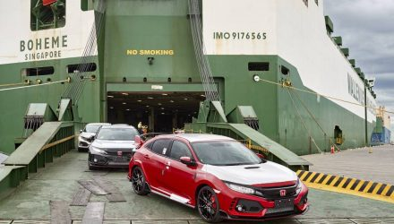 2018 Honda Civic Type R arrives in Australia