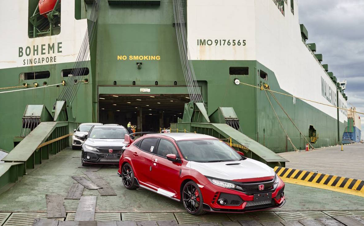 Honda Civic Type R 2017 touches down in Australia