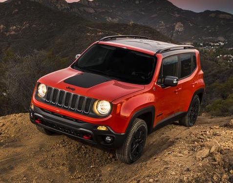 2018 jeep renegade revealed uconnect updated more tech performancedrive. Black Bedroom Furniture Sets. Home Design Ideas