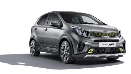 Kia announces Picanto X-Line crossover in Europe, gets 1.0T