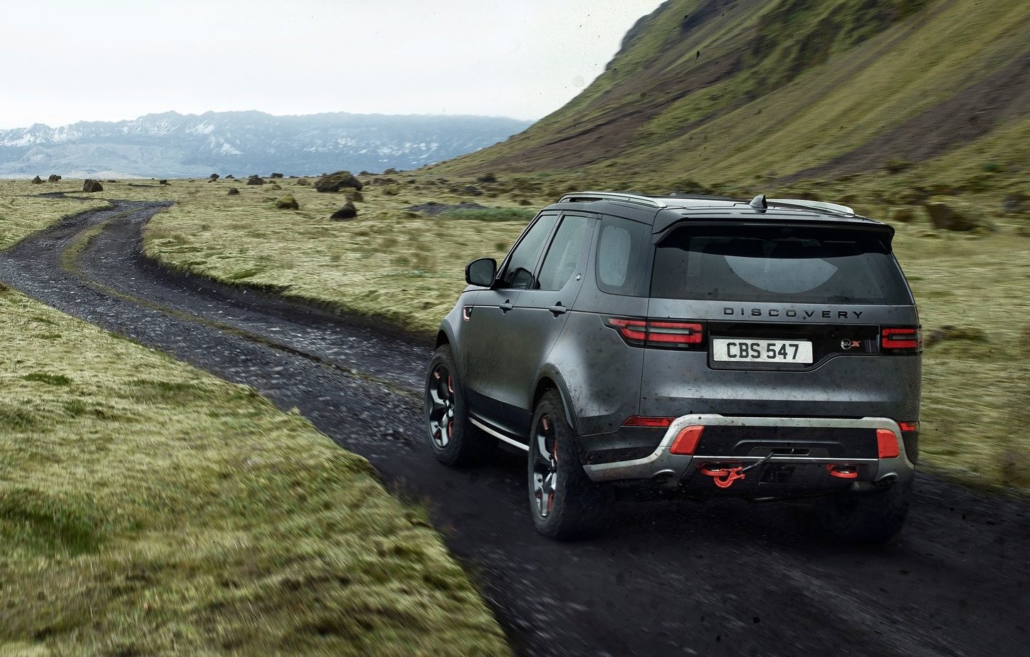land rover discovery svx debuts with supercharged v8. Black Bedroom Furniture Sets. Home Design Ideas