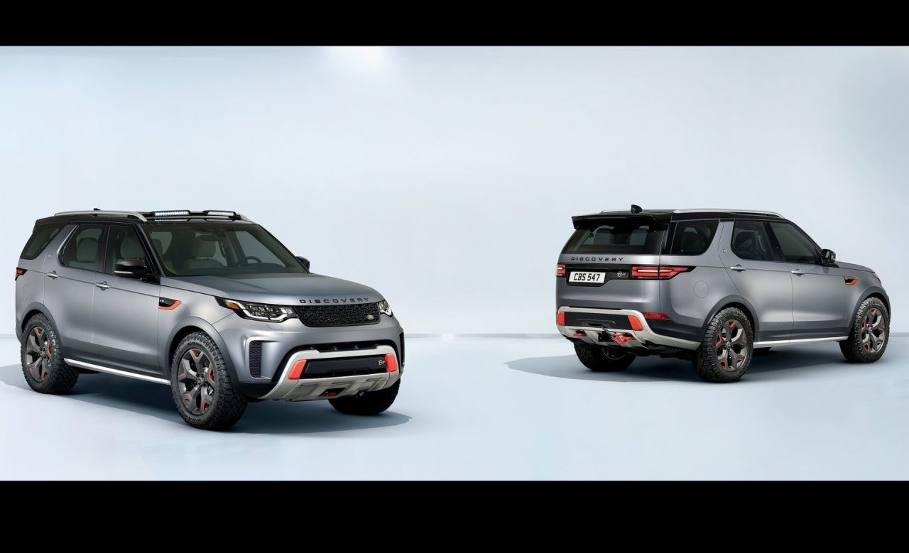2018 land rover svx. wonderful 2018 2018 land rover discovery svxstudio with land rover svx o