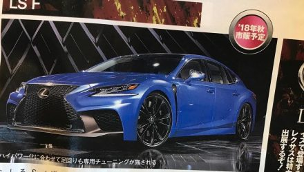 Lexus LS F twin-turbo V8 to debut at Tokyo – rumour