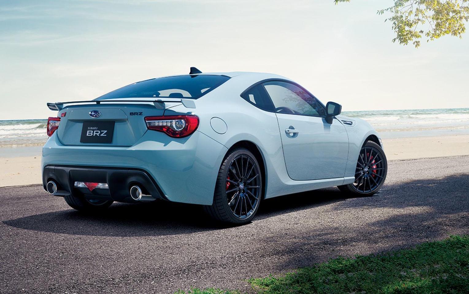 Subaru Brz Sti Sport Previews Australian Bound Special Edition