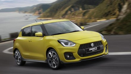 2018 Suzuki Swift Sport debuts at Frankfurt show with 1.4T