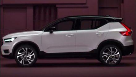 2018 Volvo XC40 leaked online, T5 hybrid confirmed