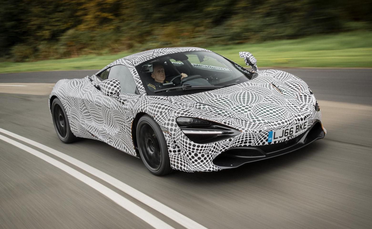 McLaren F1 successor starts testing on a 720S-based prototype
