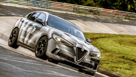 Alfa Romeo Stelvio QV sets Nurburgring SUV record (video)