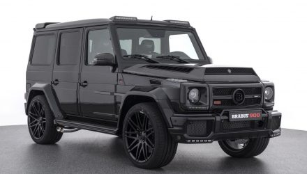 BRABUS G 900 turns Mercedes-AMG G 65 into Darth Vader