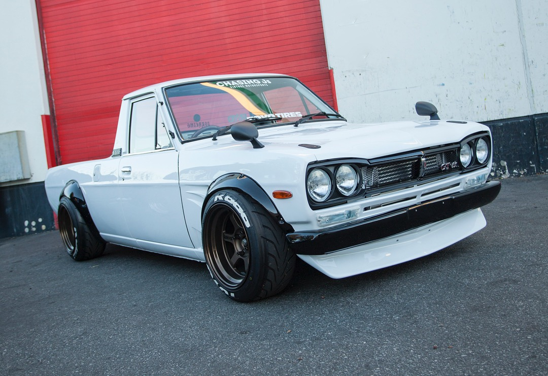 Datsun 1200 Ute With Hakosuka Skyline Front End Conversion