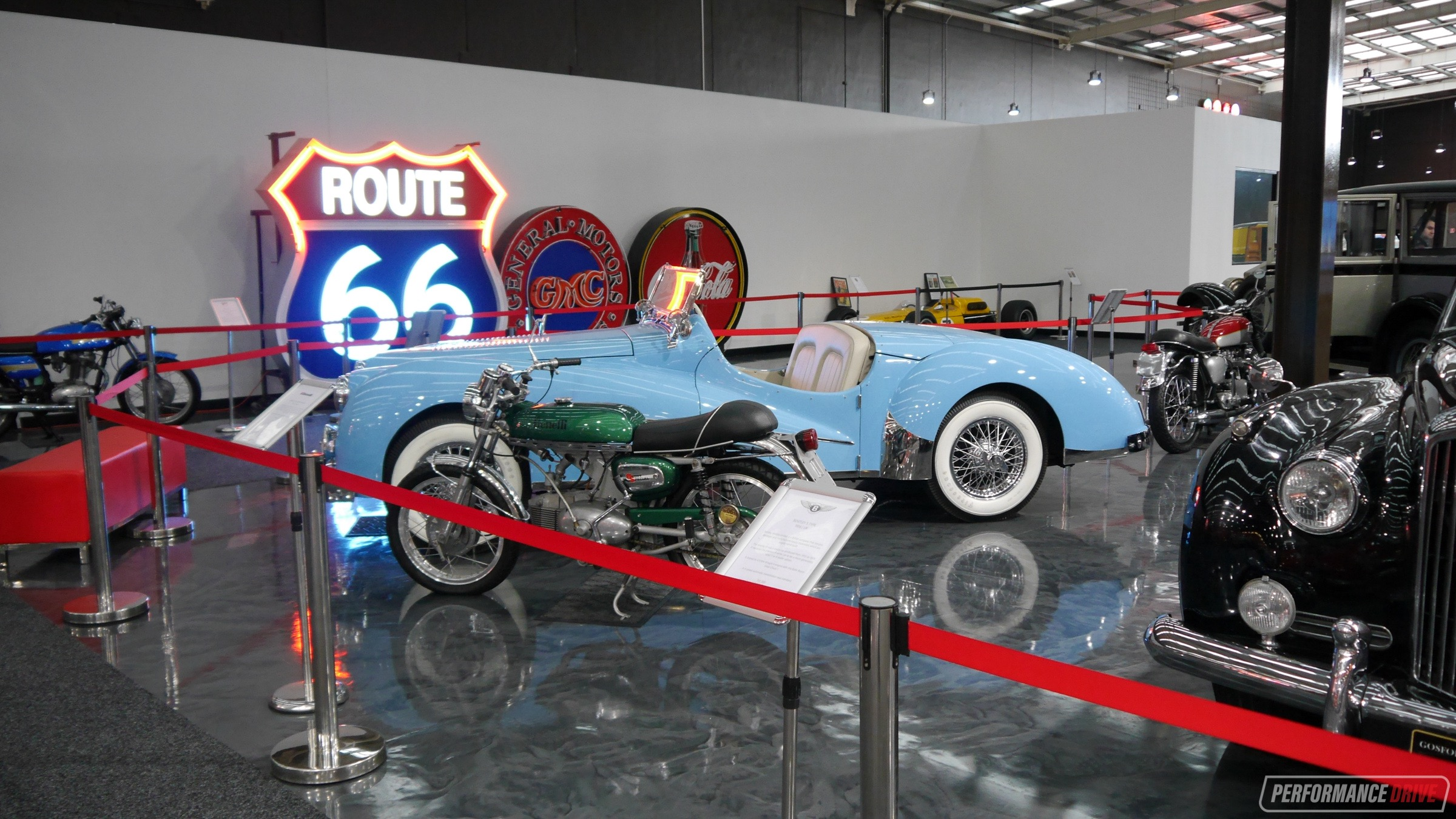 Checking out Gosford Classic Car Museum\'s exotic lineup ...
