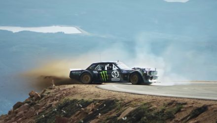 Video: Ken Block does his thing up Pikes Peak