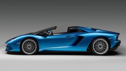 Lamborghini Aventador S Roadster unveiled